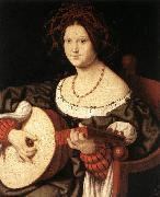 SOLARI, Andrea The Lute Player fg oil painting