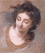 VIGEE-LEBRUN, Elisabeth Woman's Head iy oil painting