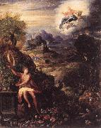 ZUCCHI, Jacopo Allegory of the Creation nw3r oil painting