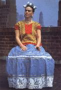 Frida Kahlo Frida Kahlo in New York oil painting