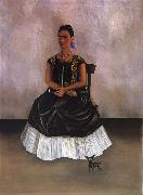 Frida Kahlo Itzcuintli Dog with me oil painting reproduction