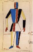 Kasimir Malevich Overmatch oil painting reproduction