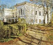 Stanislav Zhukovsky The White House oil painting