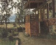 Stanislav Zhukovsky The Terrace oil painting
