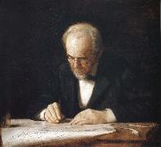 Thomas Eakins Write Master oil painting reproduction