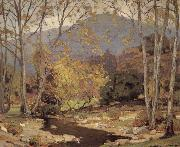 William Wendt Quiet Brook oil painting reproduction