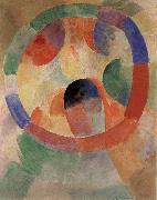 Delaunay, Robert Cyclotron-s shape oil painting reproduction