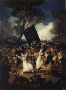Francisco Goya Funeral of a Sardine oil painting reproduction