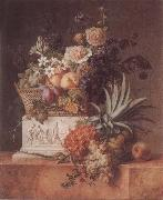 Willem Van Leen Pineapple Jardiniere oil painting