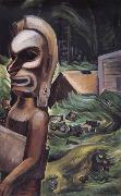Emily Carr Zunoqua of the Cat Village oil painting reproduction
