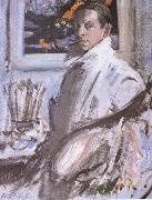 Francis Campbell Boileau Cadell Self-Portrait oil painting