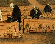 Hugo Simberg In the Garden of Death oil painting