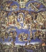 Michelangelo Buonarroti The Last  judgment oil painting