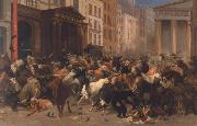 William Holbrook Beard Bulls and Bears in the Market oil painting
