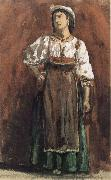 William Stott of Oldham Italian Woman oil painting