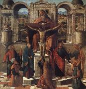 Giovanni Mansueti Symbolic Representaton of the Crucifixion oil painting reproduction
