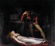 Johann Heinrich Fuseli Ezzelin and Meduna oil painting