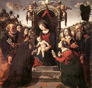 Piero di Cosimo Mystical Marriage of St Catherine of Alexandria oil painting reproduction