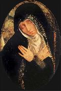 Quentin Matsys The sad Virgin oil painting