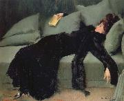 Ramon Casas i Carbo After the Ball oil painting