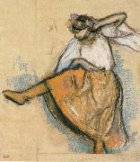 Edgar Degas Russian Dancer oil painting reproduction