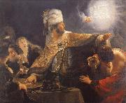 Rembrandt van rijn Write on the wall oil painting reproduction
