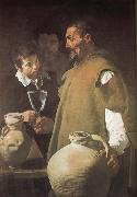 Velasquez The Warter-seller of Seville oil painting