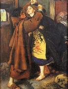 Sir John Everett Millais Escape of a Heretic oil painting