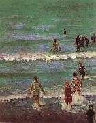 Walter Richard Sickert Bathers at Dieppe oil painting