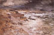 William Mctaggart The Storm oil painting