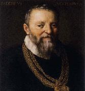 ZUCCARO Federico Self-Portrait aftr 1588 oil painting