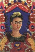 Frida Kahlo Self-Portrait oil painting