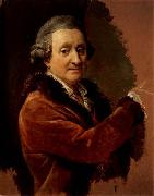 Pompeo Batoni Self-Portrait oil painting