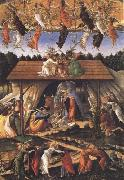 Sandro Botticelli Mystic Nativity oil painting reproduction
