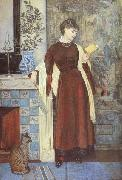Walter Crane,RWS At Home:A Portrait (mk46) oil painting