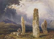 William Andrews Nesfield Druidical Temple at Tormore,isle of Arran (mk47) oil painting