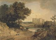 William Havell Carew Castle,Near Pembroke (mk47) oil painting