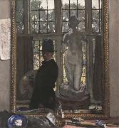 William Orpen Myself and Venus oil painting reproduction