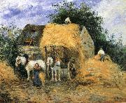 Camille Pissarro Yun-hay carriage oil painting reproduction