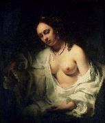 Willem Drost Willem Drost, oil painting