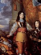 William Dobson Charles II when Prince of Wales oil painting