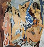 pablo picasso Avignon girls oil painting reproduction