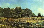 Alfred Sisley Avenue of Chestnut Trees near La Celle Saint Cloud oil painting reproduction