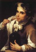 Bartolome Esteban Murillo Juvenile drinking oil painting reproduction