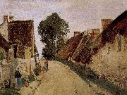 Camille Pissarro Overton village cul-de sac oil painting reproduction