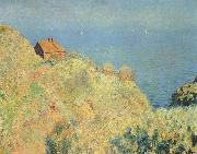 Claude Monet Hut of the Douaniers with Varengeville, oil painting reproduction