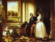 Sir edwin henry landseer,R.A. Windsor Castle in Modern Times oil painting