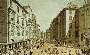 william wordsworth vienna in the 18th century a view of one of its streets, the kohlmarkt oil painting