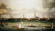 wolfgang amadeus mozart Anonymous painting Hamburg, one of the most important Hanseatic port oil painting