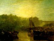 J.M.W.Turner dorchester mead oil painting